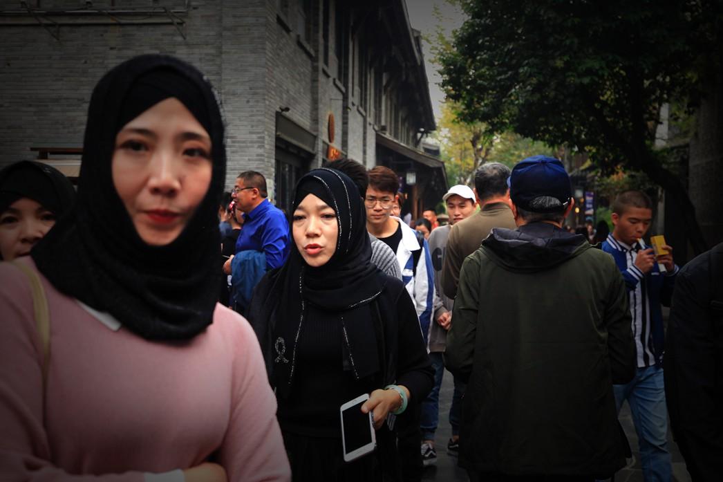 【冬之映像】热闹的宽窄巷 安逸的成都人